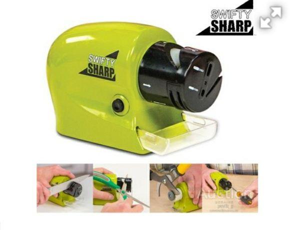 Электрическая универсальная Точилка для ножей Swifty Sharp