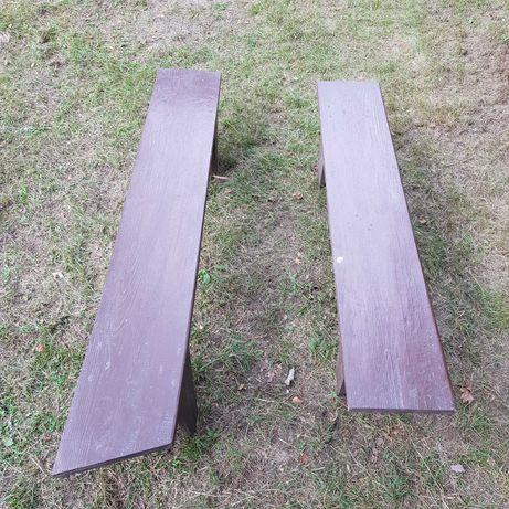 ławka ławeczka drewniana ogrodowa