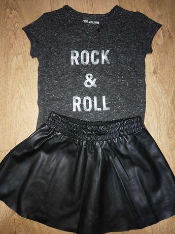 Юбка с футболкой Zadig&Voltaire на девочку 5 лет (108 см)