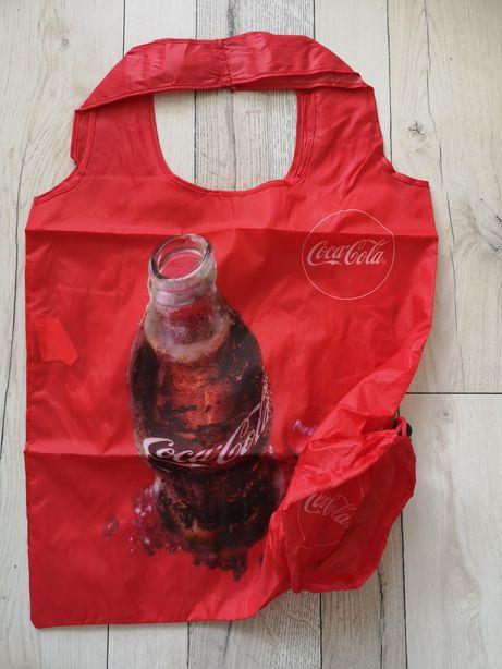 Składana torba siatka na zakupy Coca Cola