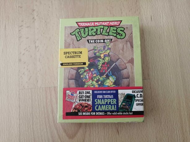 "Jogo Spectrum ""Tartarugas Ninja / Ninja turtles (The Coin-Op)"""