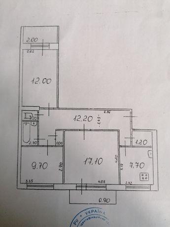 Продам 3 ком квартиру по улице Бульвар Маршала Василевского