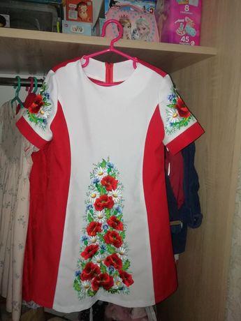 Вишита сукня, вишиванка