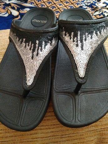 Шлепки сандали босоножки 39 размер женская обувь