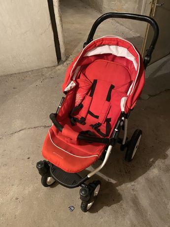 Wózek Reinbow Bebetto Czerwony
