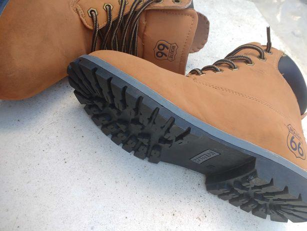 Ботинки новые бренд роут66 привезены из Германии рр39