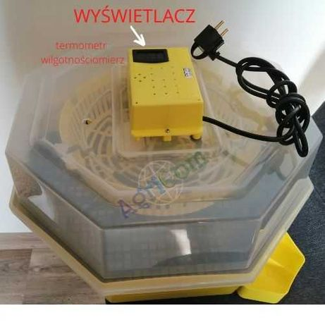 Półautomatyczny inkubator wylęgarka klujnik taca na 48/60 jaj cleo 5