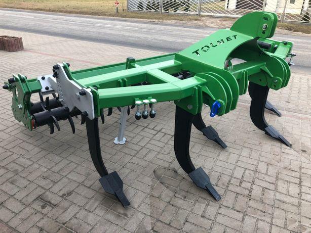 Głębosz firmy Tolmet 5 łap wał mulczer