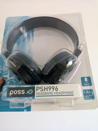 Nowe słuchawki poss do pracy zdalnej