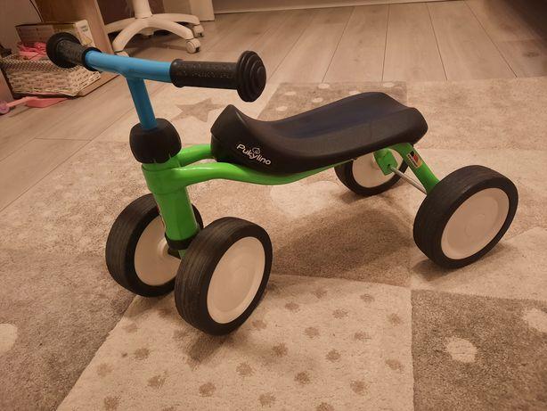 Rowerek biegowy pukylino jezdzik zielono niebieski super stan!