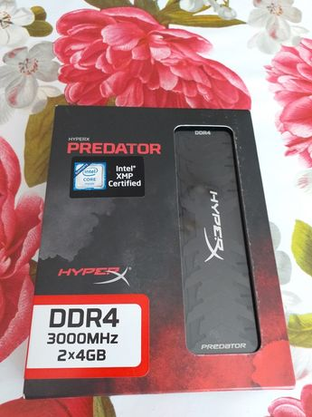 Pamięć ram HyperX Predator 2x4gb 3000mhz cl15