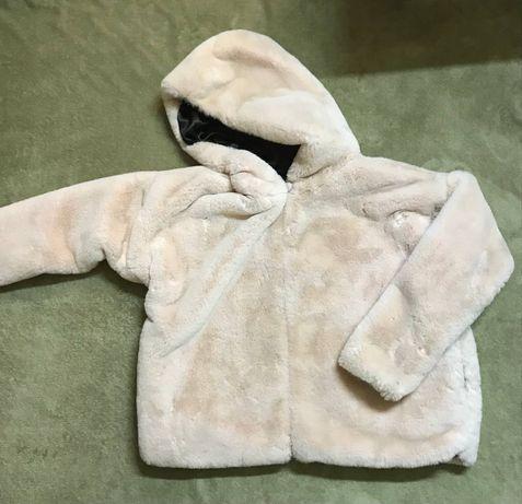 Мягкая куртка / объемная розовая куртка / шуба