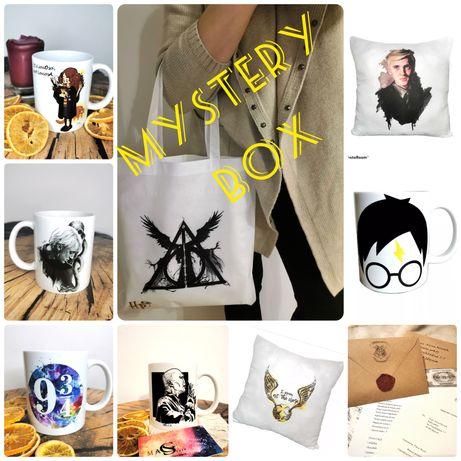 Mystery box prezent Harry Potter XL - kubek, torba, poszewka i inne