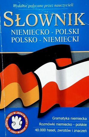 Słownik niemiecko-polski polsko-niemiecki Rozmówki Gramatyka