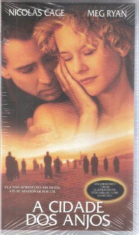 """Filme VHS """"A Cidade dos Anjos"""" de 1999"""