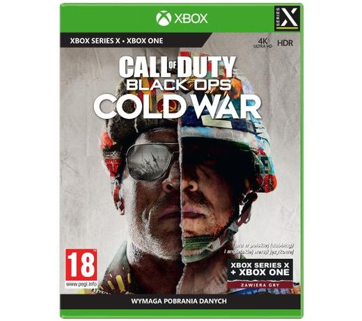 Call of Duty Cold War PL Xbox Series X / One #GAMESHOP KIELCE
