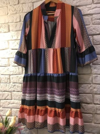 Sukieneczka kolorowa letnia