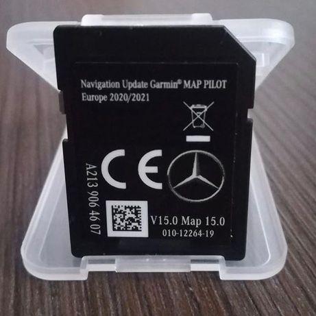 Навигация Mercedes GARMIN MAP PILOT 2020/2021 A2139064607 V15