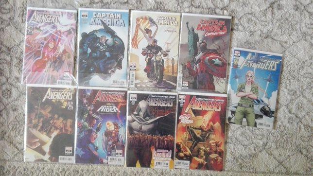 Komiksy Marvel Avengers Kapitan Ameryka [zeszyty]