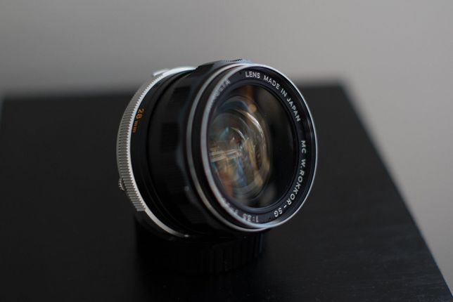 Minolta MD Rokkor 28mm f3,5