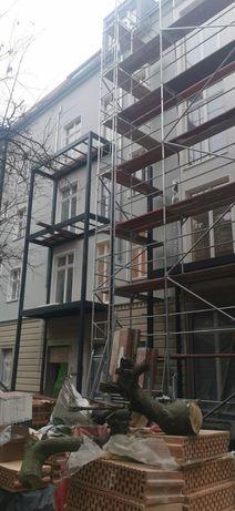 Balkony zewnętrzne konstrukcje stalowe