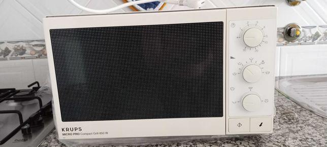 Micro-ondas Krups Micro Pro Compact Grill 850W: antigo mas a funcionar