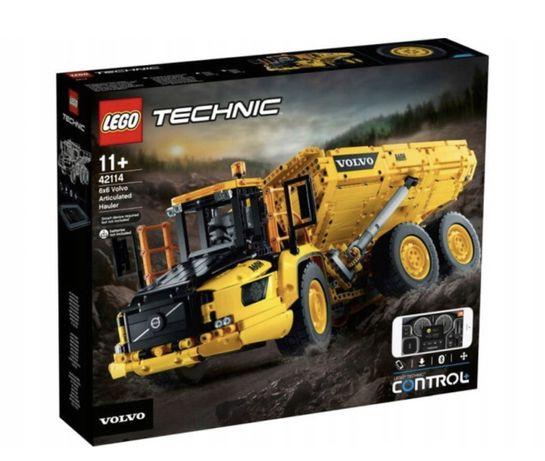 LEGO TECHNIC Wozidło przegubowe Volvo 6x6 42114