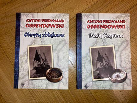 Antoni Ferdynand Ossendowski - dwie książki