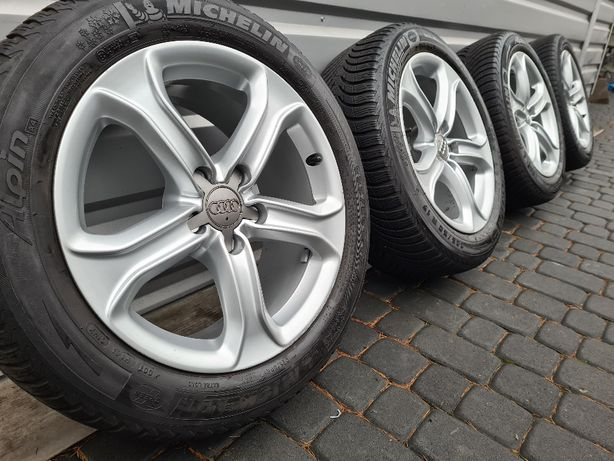 "Oryginalne Felgi Koła Audi 17"" A4 A5 A6 A7 A8 Q3 Q5"