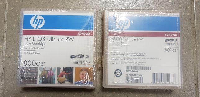 Taśma HP LTO3 Ultrium RW C7973A 800GB nowa