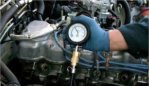 Проверка компрессии на дизельных авто. Днепр.