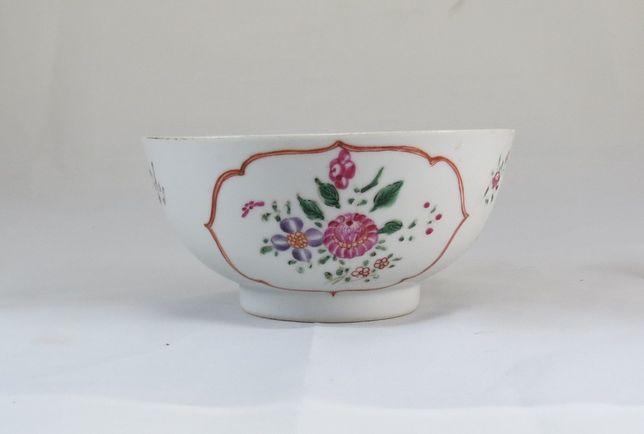 Tigela Taça Companhia das Índias Família Rosa Porcelana Chinesa 14cm