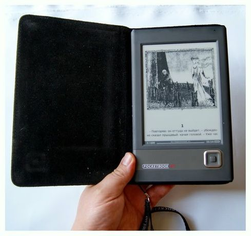 Фирменная книга Pocketbook 301 plus E-Ink(электр. чернила)