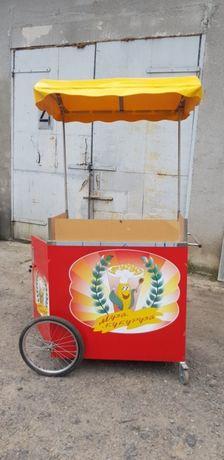 Апарат для приготування гарячої кукурудзи КИЙ-В.