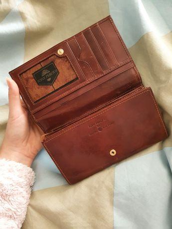 Nowy, skórzany portfel Tony Perotti