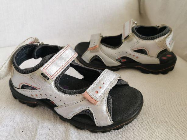 ECCO sandały skórzane dziecięce r 30