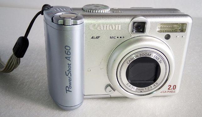 Canon PowerShot A60 (нерабочий) на запчасти