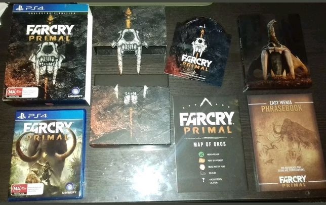 PS4 Far Cry farcry primal collector's edition como novo