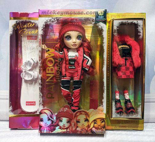 Кукла Рейнбоу Хай серии ЗимаРуби Андерсон 574286