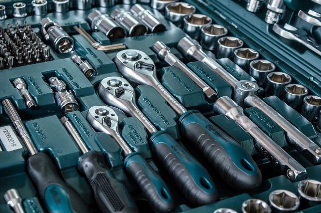 Набор инструментов Gut Maister 216 шт от Mannesmann Набір інструментів
