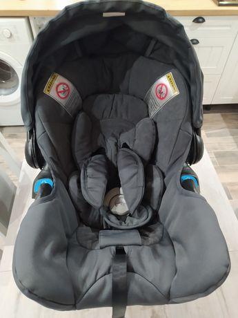 Fotelik teutonia z bazą i wkładką dla niemowlaka