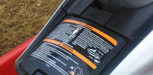 Klapka schowka z zatrzaskiem Yamaha FX 140 skuter wodny części