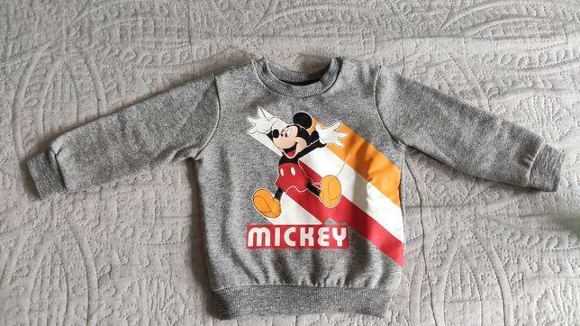 Bluza rozmiar 86 Mickey