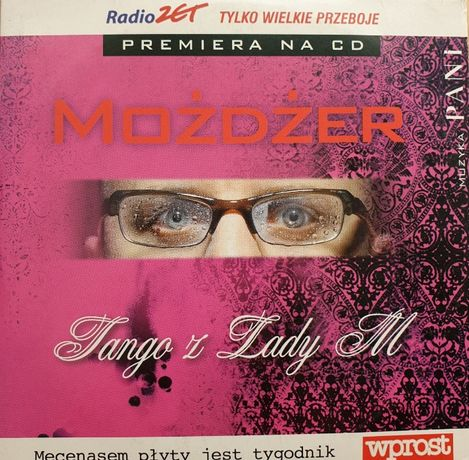 "Leszek Możdżer ""Tango z Lady M"" płyta CD"