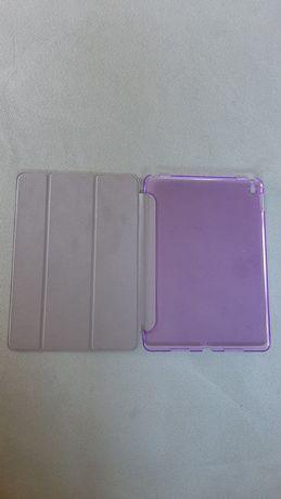 Liliowe fioletowe etui na tablet na iPad
