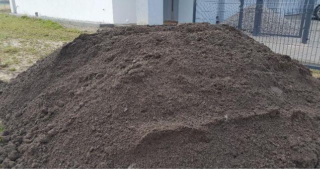 Podłoże ziemia do ogrodu piasek pod kostkę zasypkę murowania TRANS