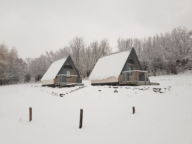 Domki letniskowe domki drewniane z widokiem na góry