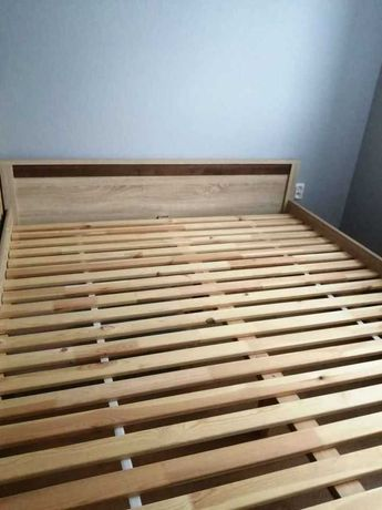 Łóżko Oren BRW + 2 szafki nocne