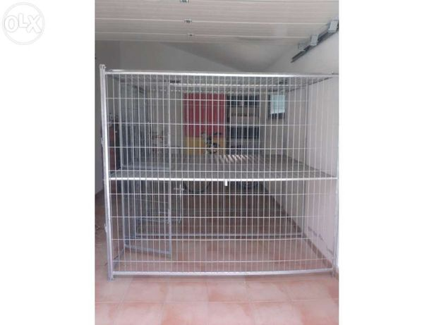 multiPet canil QUADRA INDOOR 1500X1000X1850