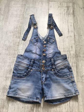 Комбинезон джинсовый- разборной